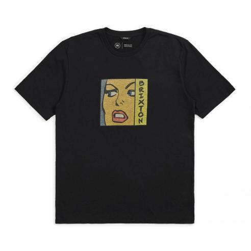 Brixton Damsel Washed Black T-Shirt