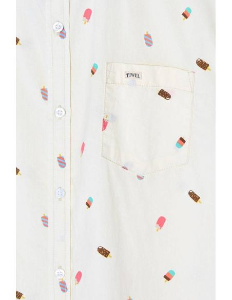 Tiwel Ice Off White Shirt