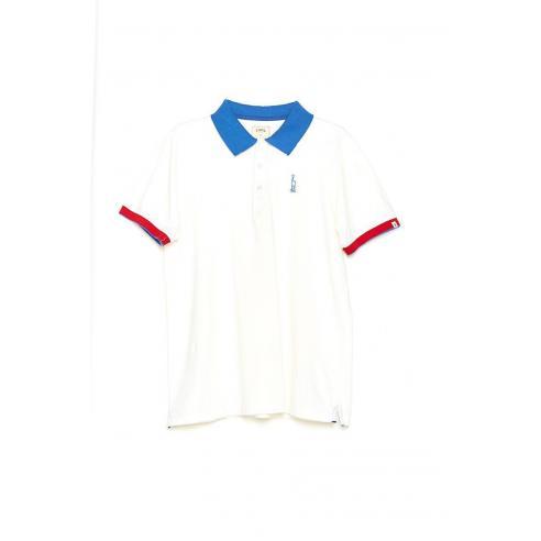 Tiwel Block Snow white Polo