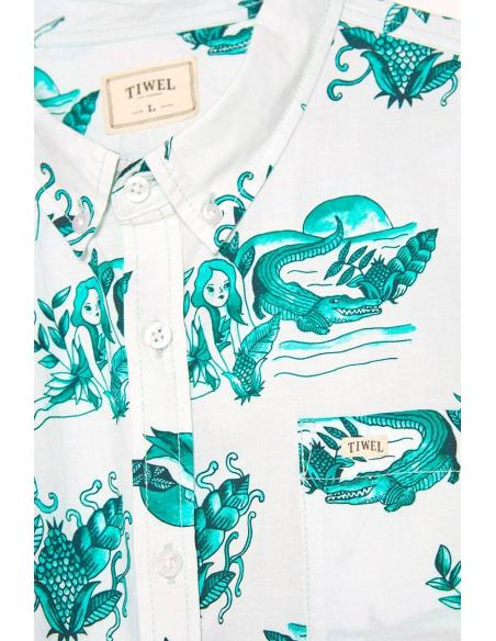 Camisa Tiwel Swamp Snow white