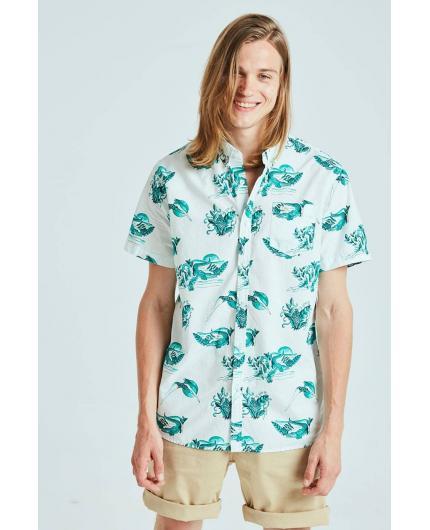 Camisa Tiwel Swamp Snow white