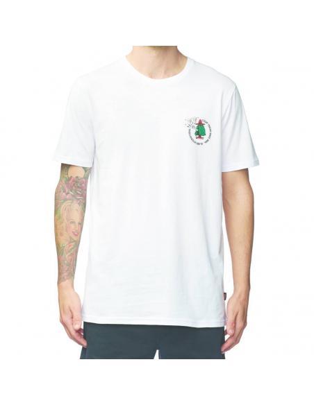 Camiseta Globe Cheap Tricks Blanco
