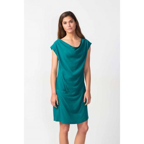 SKFK Baia Dark green Dress