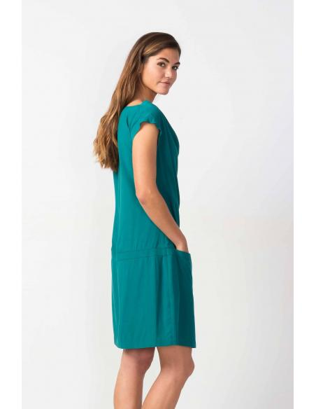 SKFK Baia Dark green Dress