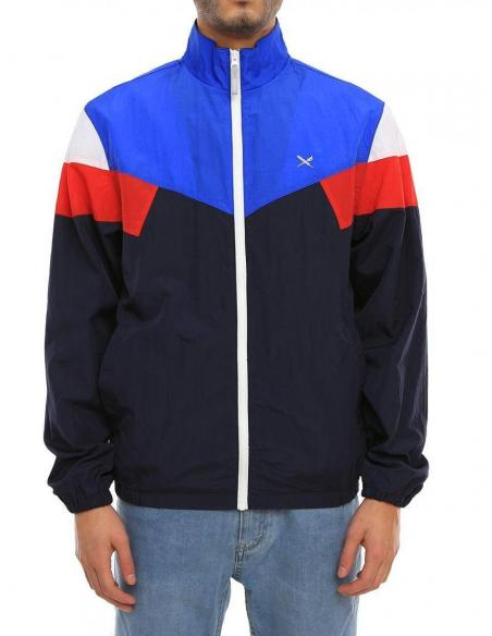Iriedaily Get Down Jacket Navy red
