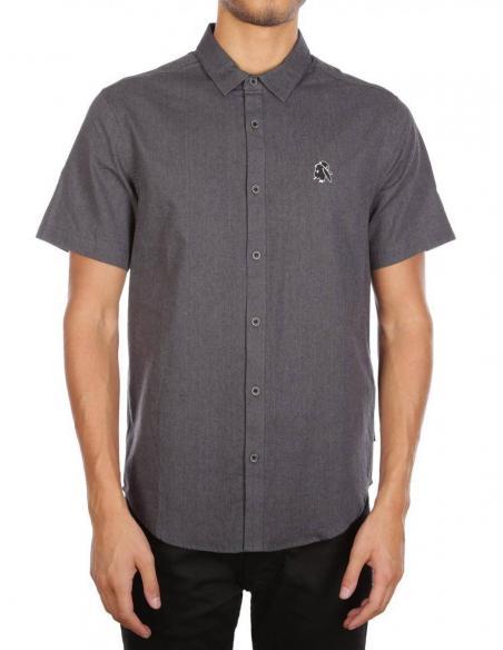 Iriedaily Chillboy Anthracite Melange Shirt