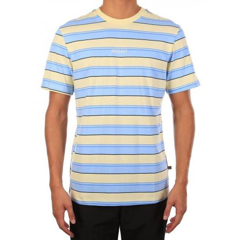 Iriedaily Tony stripe Lemonade T-shirt