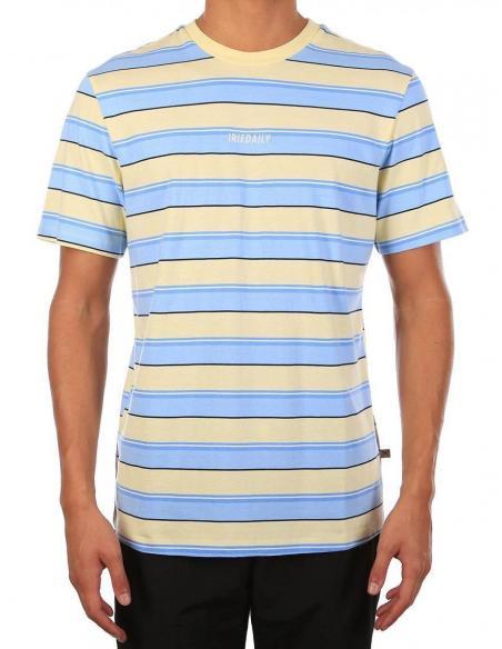 Iriedaily Tony stripe Lemonade T-shirt