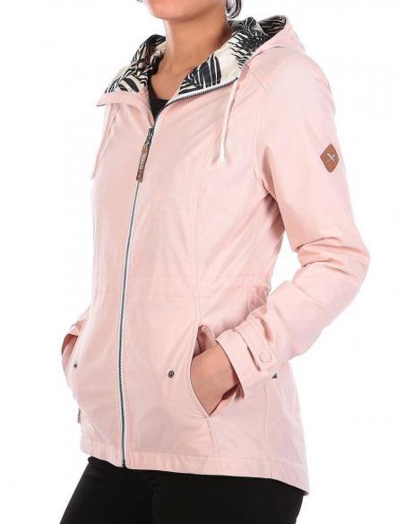 Iriedaily Kishory Up Jacket Rose
