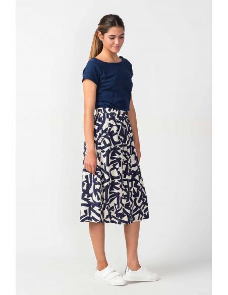 SKFK Lakuntza Dark blue Skirt