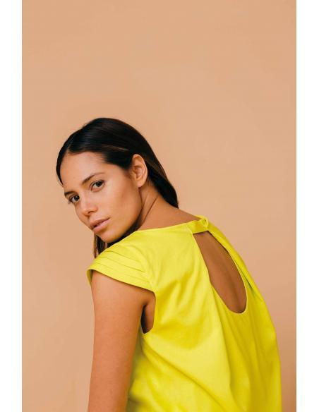 SKFK Oiartza Lime Dress