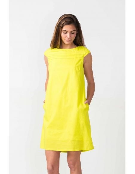 SKFK Oiartza Lime Dress