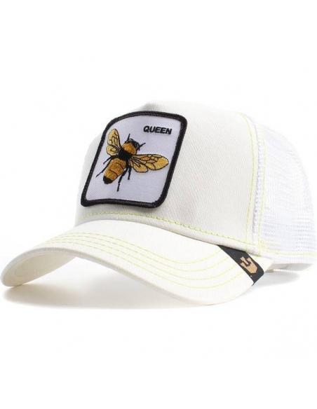 Goorin Bros Queen Bee White Trucker Cap