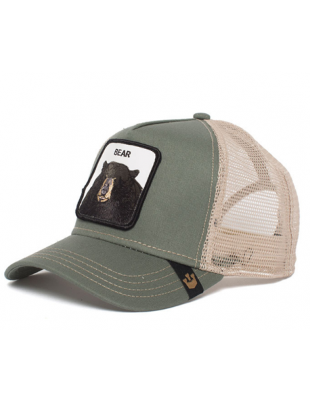 Gorra Goorin Bros Bear Oso Verde Animal Farm