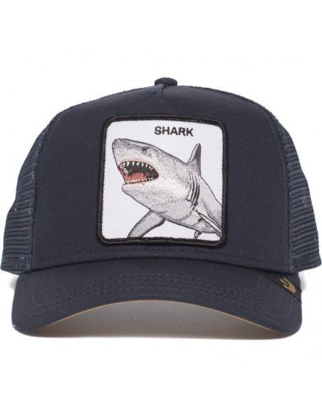 Gorra Goorin Bros Tiburon Azul Marino Dunnah Shark