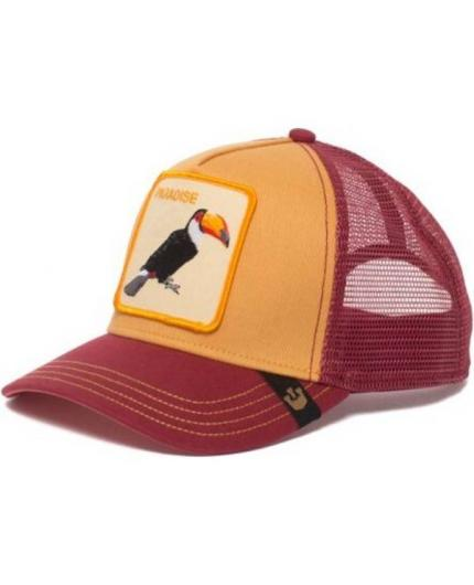 Gorra Goorin Bros Take Me To Tucan Amarillo Mostaza