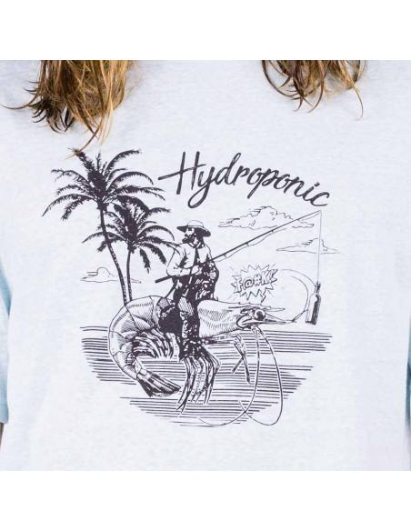 Camiseta Hydroponic Prawn Heather Skylight
