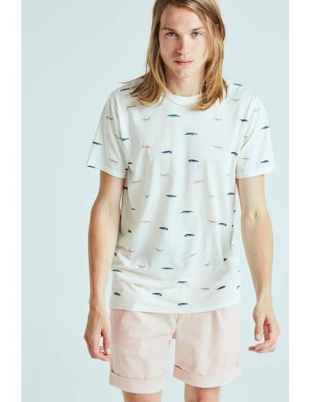 Camiseta Tiwel Allies Off white melange