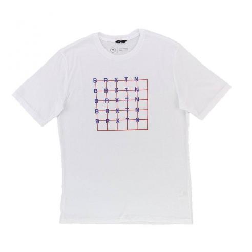Camiseta Brixton Weber S/S white