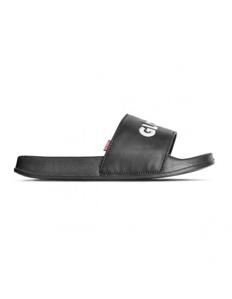 Chanclas Globe Unfazed Slide Negro y Blanco