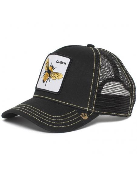 Goorin Bros Queen Bee Black Trucker Cap