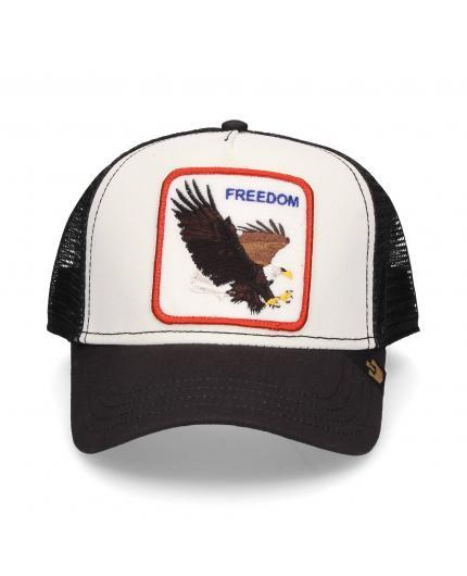cdb6c13fc5369 Gorra Goorin Bros Freedom White Aguila ...