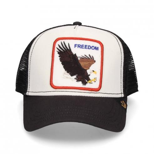 Gorra Goorin Bros Freedom White Aguila