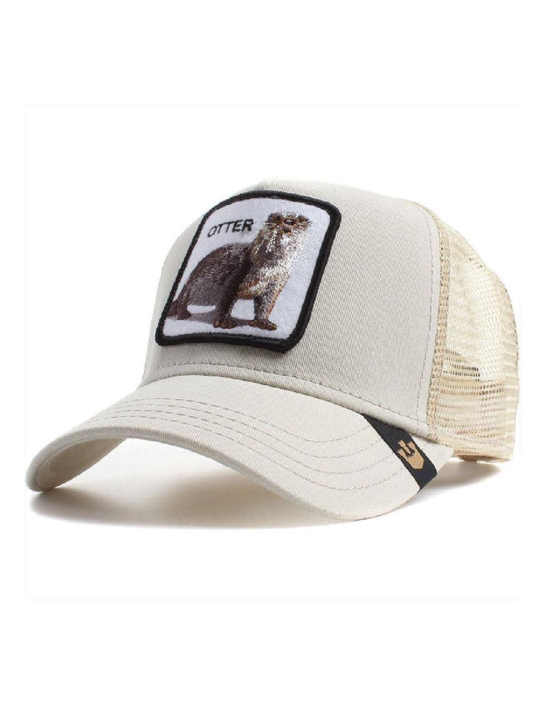 f514192453cb4 Goorin Bros Otter White Stone Animal Farm