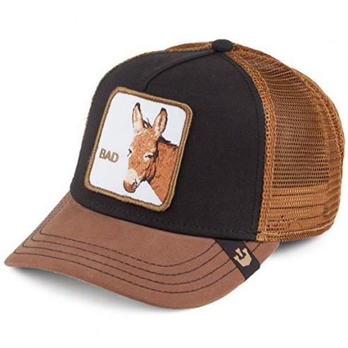ab9380be18ce5b Goorin Bros Bad Ass Black Brown Animal Farm Trucker Hat