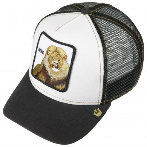 27432ae57 Goorin Bros King Black Animal Farm Trucker Hat