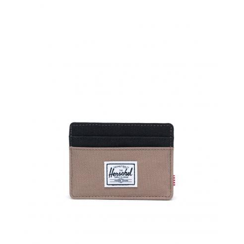 Herschel Charlie Pine Bark/Black RFID...