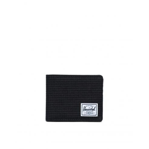 Herschel Roy wallet Black Grid/Black...