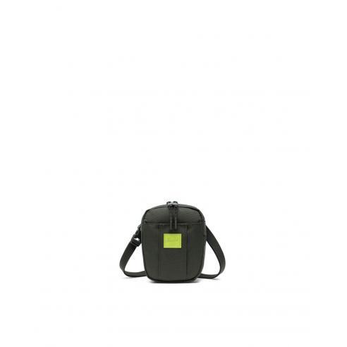 Herschel Cruz Dark Olive/Lime Green bag