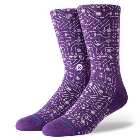 Stance Connector Purple Socks