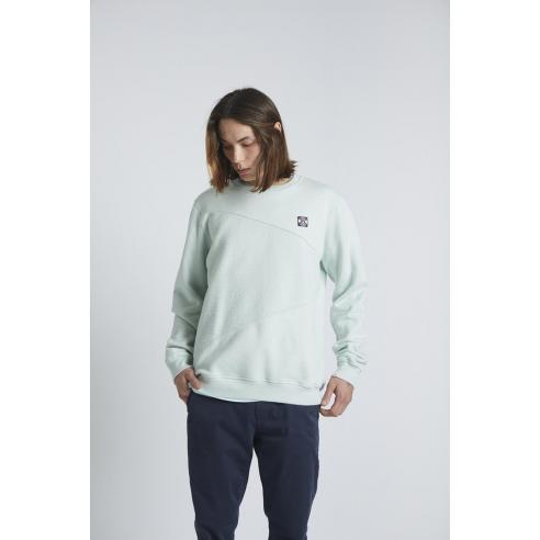 Tiwel Luisiana Green Lily Sweatshirt