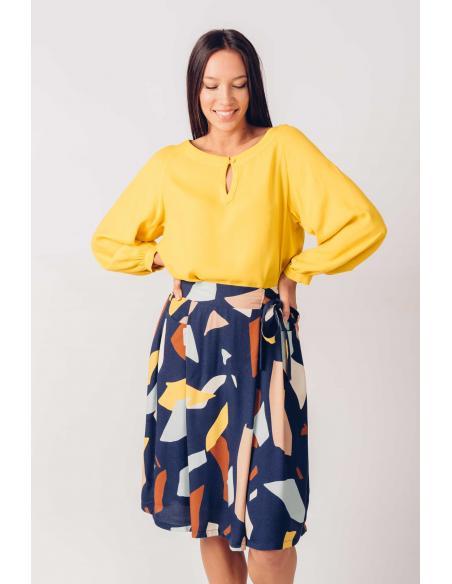 Camisa SKFK Ixe Amarillo
