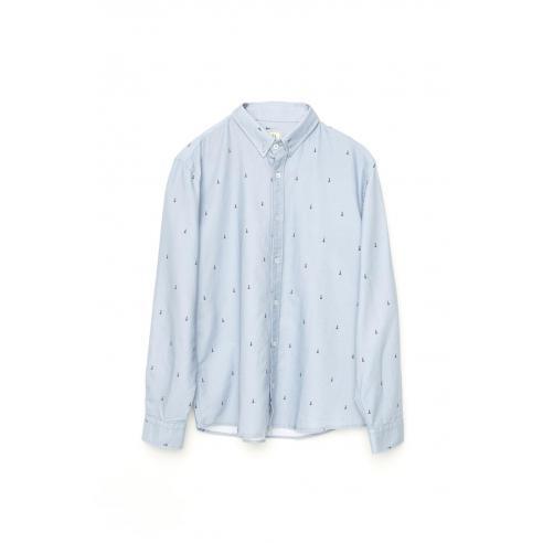 Camisa Tiwel Peon2 Blue Yonder