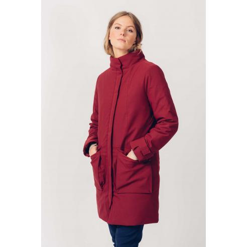 SKFK Iratze Burgundy Coat