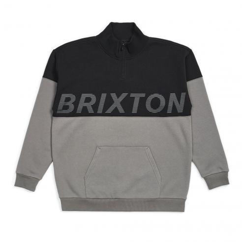 Brixton Dimension 1/2 Zip Black Pullover
