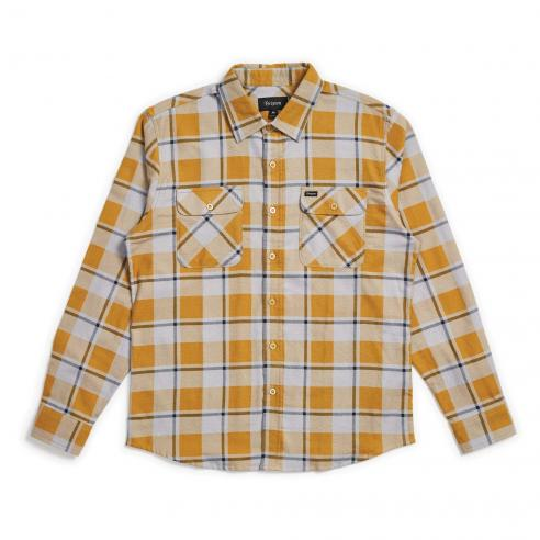 Camisa Brixton Bowery LW L/S Flannel...