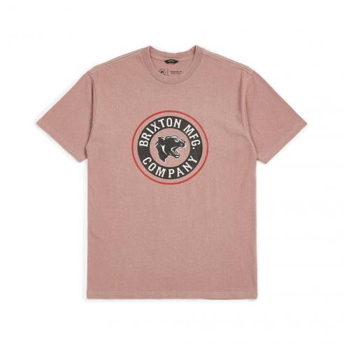 Brixton Forte Mauve T-Shirt