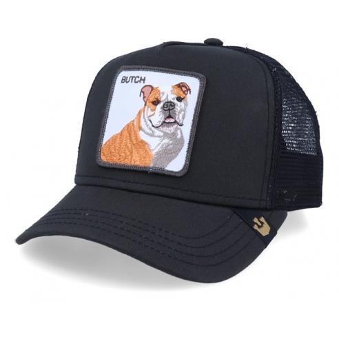 Goorin Bros Butch Bulldog black cap