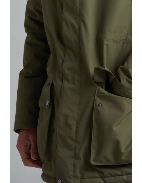 Tiwel Adahi Jacket Dark Olive (Tech Capsule)