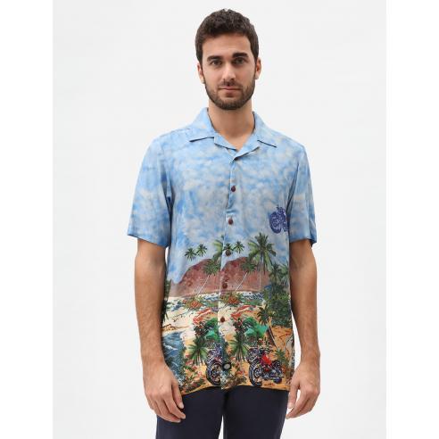 Camisa Dickies Cordele azul