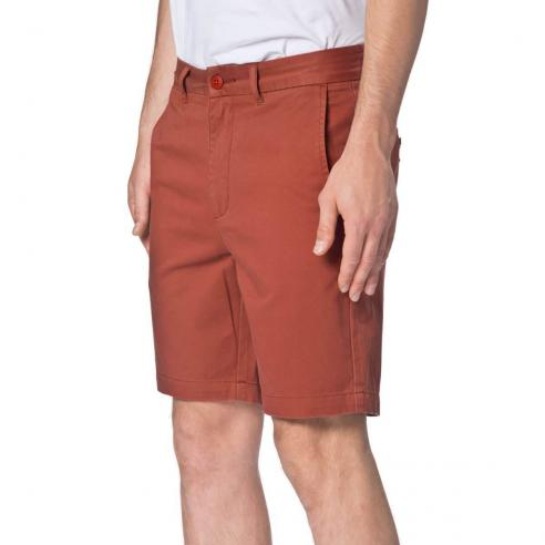 Bermuda Globe Goodstock Chino Walkshort Brick Red