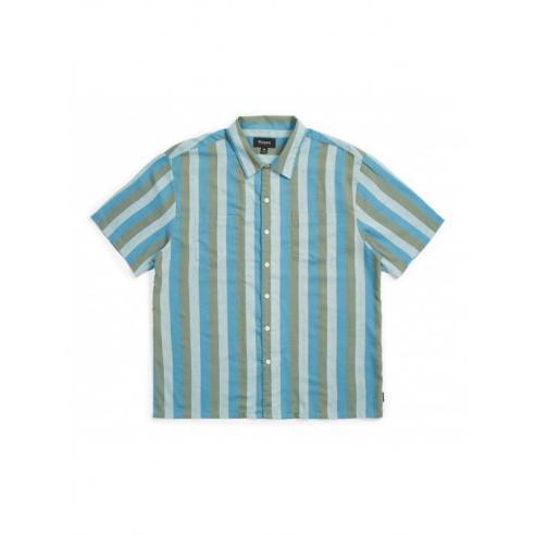 Camisa Brixton Cruze Standard Jade