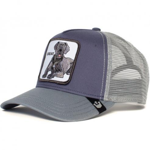 Goorin Bros Big D Great Grey cap