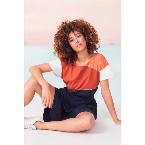 SKFK Kattalin Chill orange T-Shirt