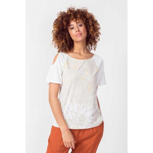 SKFK Nela White T-Shirt