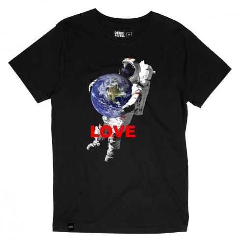 Camiseta Dedicated Stockholm Astro Love Black